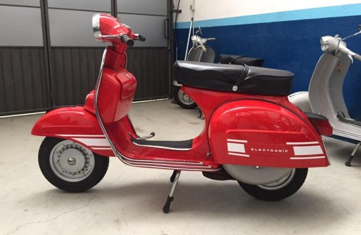 Moto Officina Rancilio - Specializzato in restauro di Vespe Piaggio d'epoca